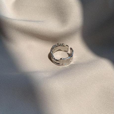 silver melt ring