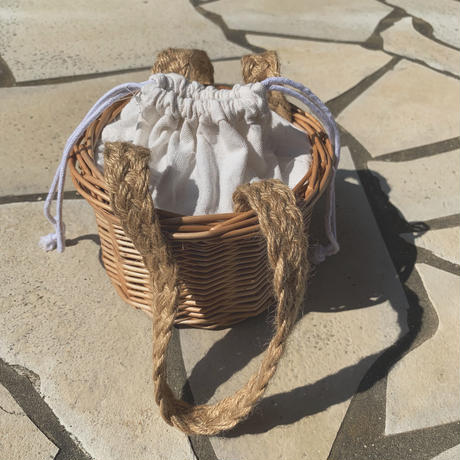 handmade basket bag (small)