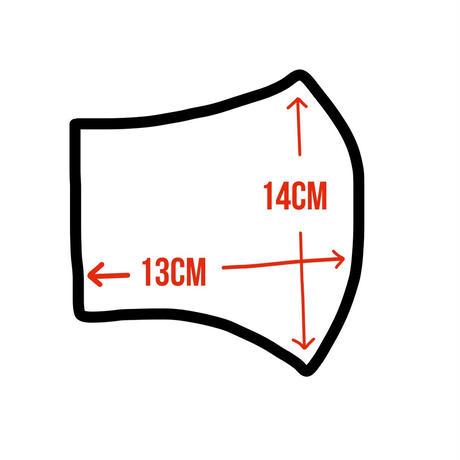 【  麻マスク・5color】men'sサイズ