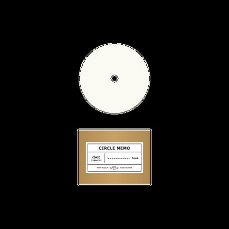 CIRCLE MEMO (専用メモ用紙)
