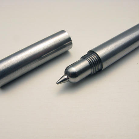 METALLIC BALLPOINT PEN - STEEL