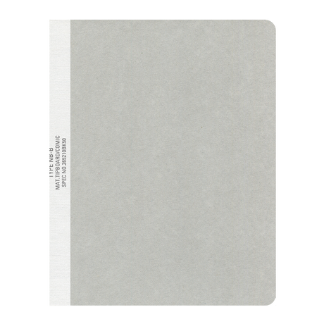 BLANK NOTE GRAY-L