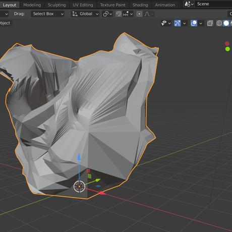 3Dモデリングを学んで「ゴミ」を作ろう