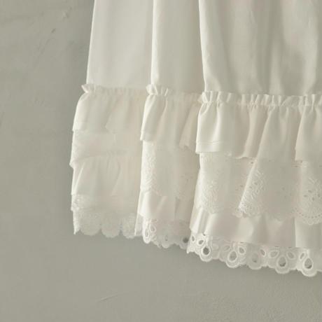 ちょっとだけ贅沢なペチスカート〈yesterday CROSS〉