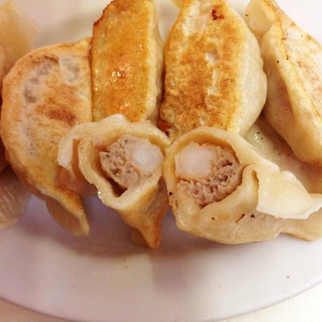 冷凍エビ餃子