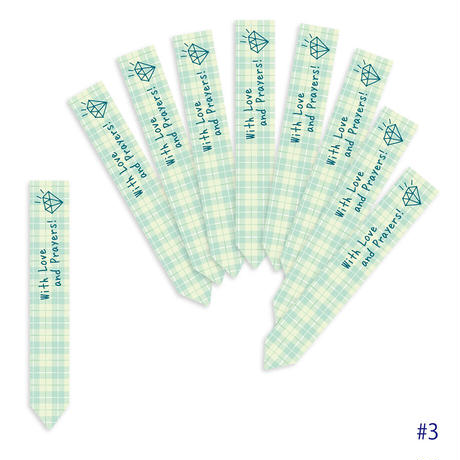 *印刷入り お花のラベルC* ~Standard~【400枚入】