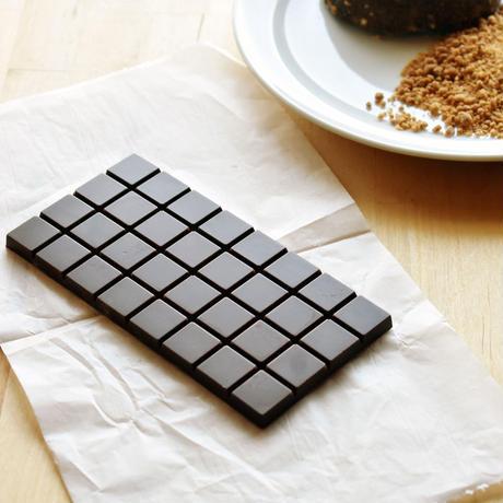 ハーフチョコレート〈プレーン〉やまぐちめぐみさんのステッカープレゼント付き