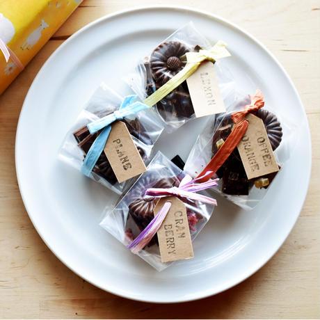 スラウェシチョコの濃厚スフレ・オ・ショコラ ~ クランベリー味 ~ のセット