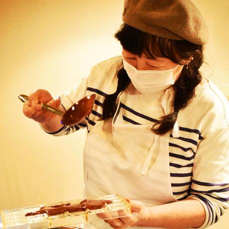 スラウェシチョコレート<Coffe Beans>画家やまぐちめぐみさんの絵の包み紙