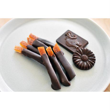 〔 スイートスプリング 〕のピールチョコ と小さなチョコのセット