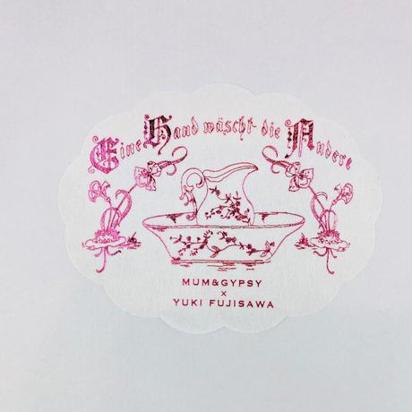 YUKI FUJISAWA × mum&gypsy 「治療、家の名はコスモス」シール