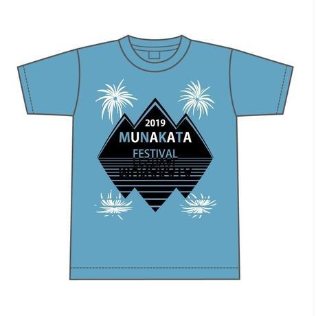 MOUNTAIN   Tシャツ (ブルー)