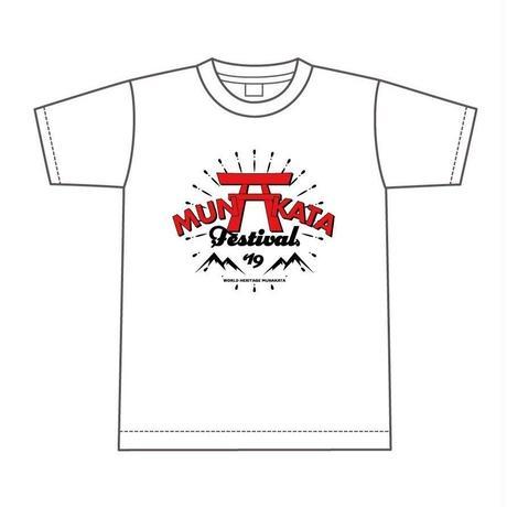 MUNAKATA  Tシャツ (ホワイト)