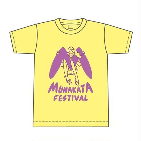 MUNAKATA GIRL Tシャツ (イエロー)