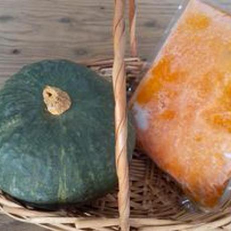 ★完熟ホクホク!★ 冷凍 蒸しかぼちゃ 1キロ (送料込み)