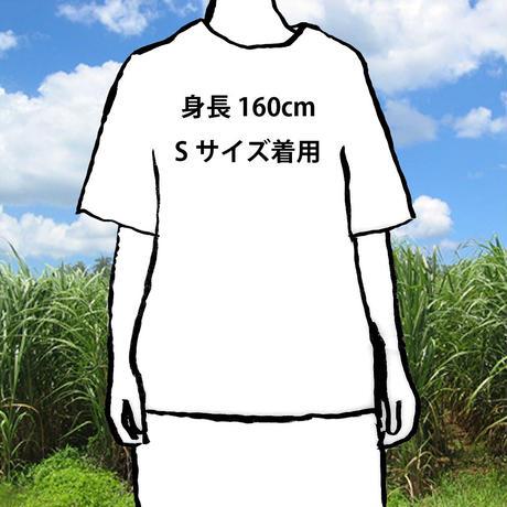 ウサギの刺繍ビッグシルエットTシャツ5.6オンス