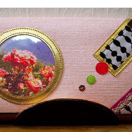 「night rose time♪ 」長財布( Long wallet) / no.26040