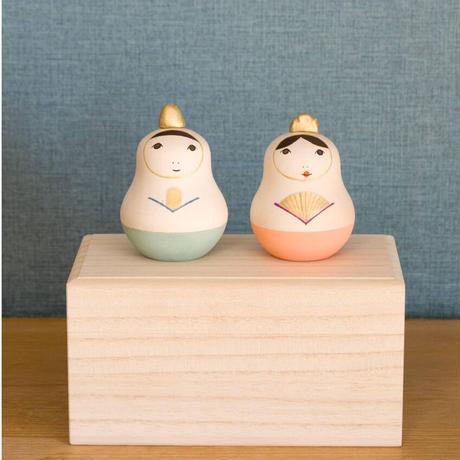 Ohinaマトリョーシカ 【2 / tone 】開くタイプ