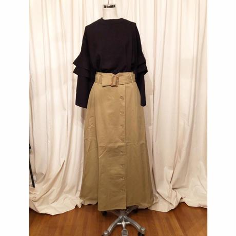 トレンチ風スカート