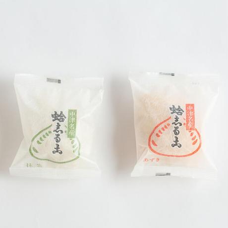 蛤志るこ 3個袋入り (小豆2個,抹茶1個)