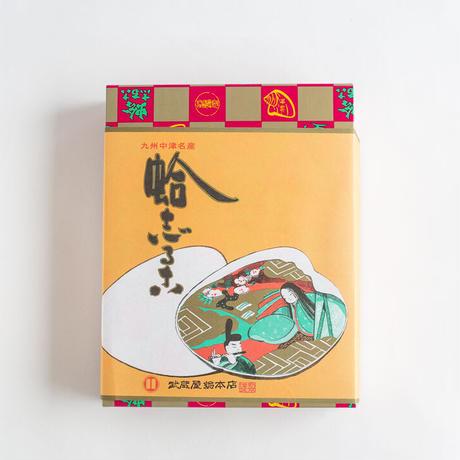 蛤志るこ 12個入り 化粧箱 (小豆8個 , 抹茶4個)