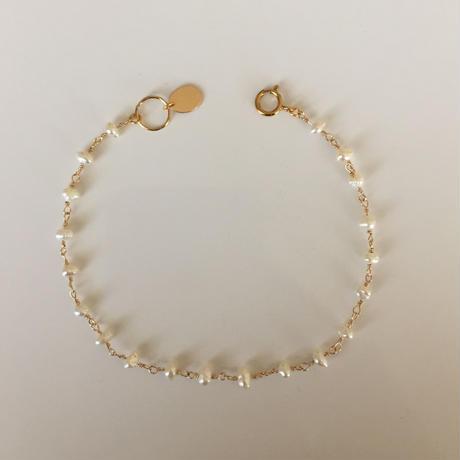 14KGF  Freshwater pearl bracelet