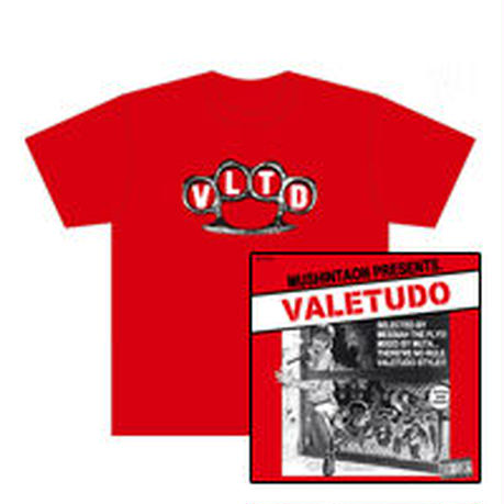 メシア THE フライ選曲 Mixed by MUTA『VALETUDO』CD & Tシャツ SET
