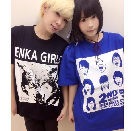 記念Tシャツ 【ルピナス語源 狼 Ver.】(7色展開)