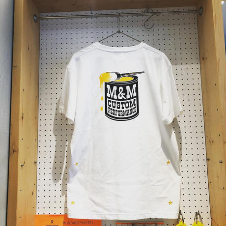 [Limited 100]  Collaboration T-Shirt With M&M CUSTOM  PERFORMANCE REVERSE EDITION