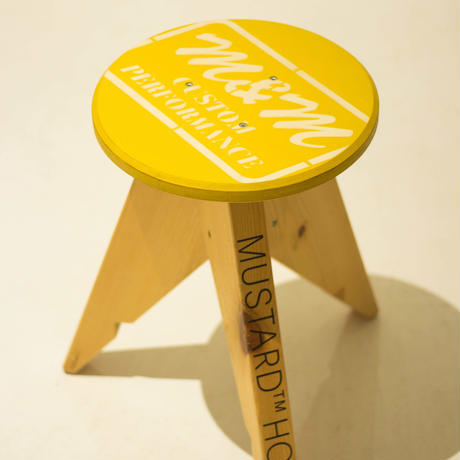 M&M -FURNITURE-  丸スツール (全塗装) CIRCLE-STOOL
