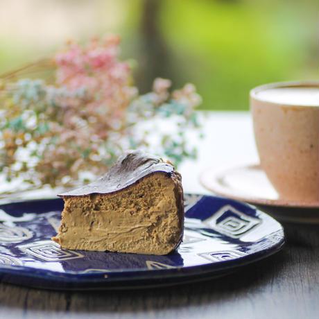 紅茶のバスクチーズケーキ
