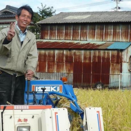 【2018年米】  うきは産 農薬不使用・無肥料・自然米 にこまる【玄米】 5kg