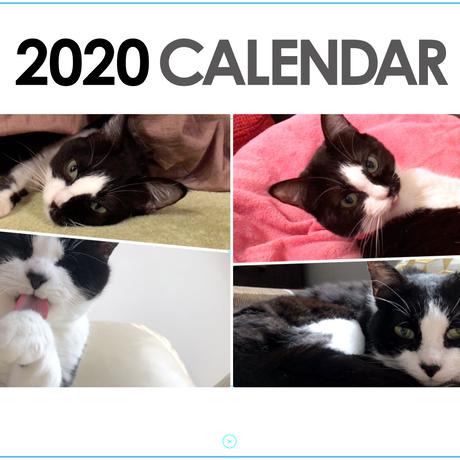 12月中発送手配【送料無料】2020年 musubiyori 壁掛けカレンダー