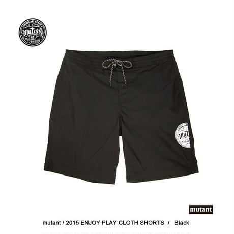 ENJOY PLAY SHORTS / BLK