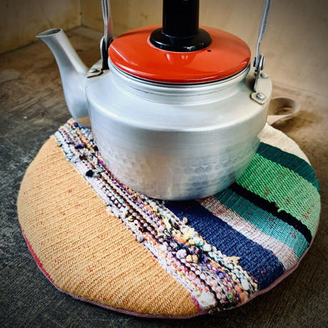 suzuさんのまんまる鍋敷き