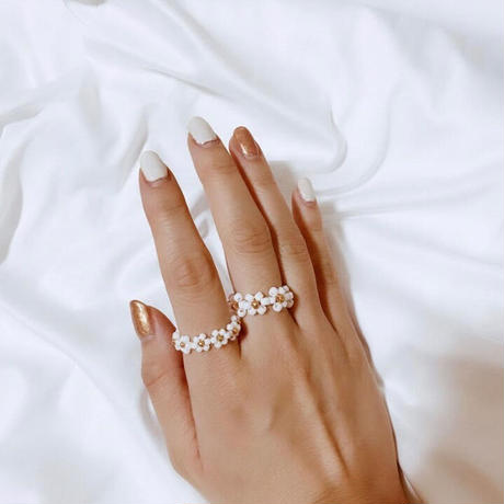 silver ring 3つset 🌙