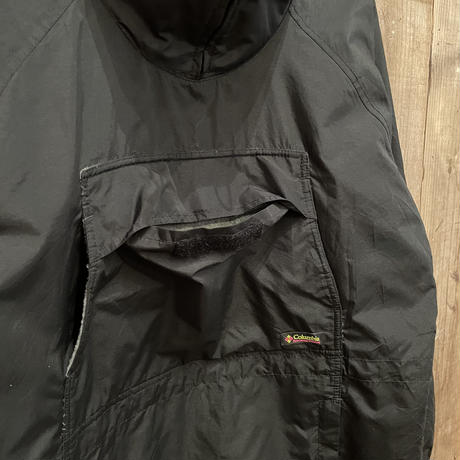 90's Columbia Nylon Anorak BLACK