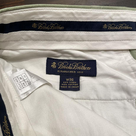 Brooks Brothers Linen/Cotton  Shorts