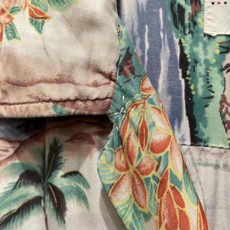 60's PENNEY'S Rayon Aloha Shirt