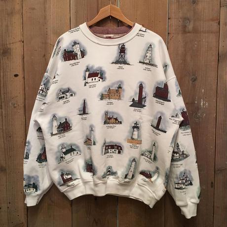 Lighthouse Printed Sweatshirt  #2