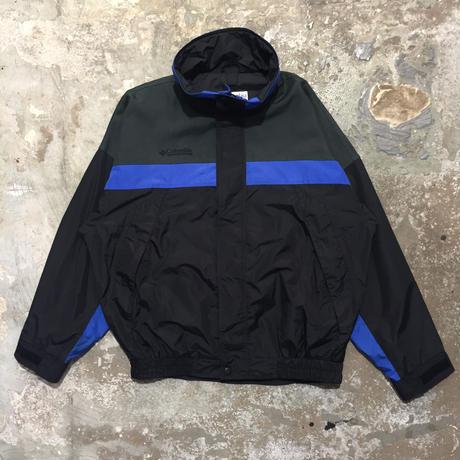 Columbia Nylon Jacket BLACK×BLUE