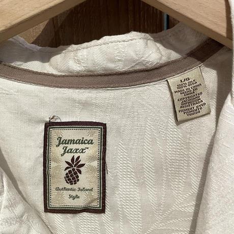 Jamaica Jaxx  Silk Open Collar Shirt