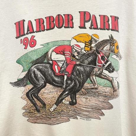 90's Hanes Horse Racing Tee