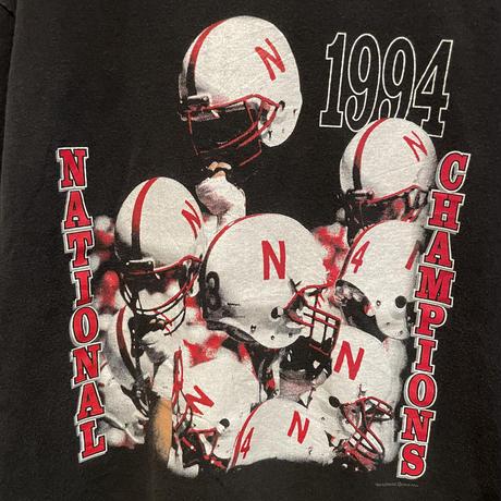 90's~ Hanes Football Tee