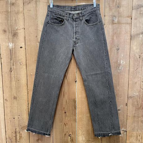 80's~ Levi's 501 Black Denim Pants  W 31