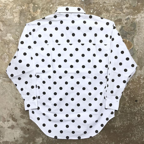 theme L/S Cotton Dot Shirt