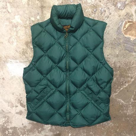 80's~ Eddie Bauer Down Vest  GREEN