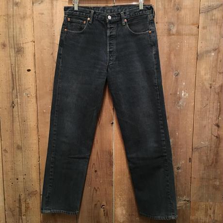 90's Levi's 501 Color Denim Pants NAVY W : 33