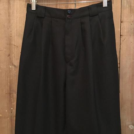 80's~ Giorgio Sant' Angelo Wool Wide Pants