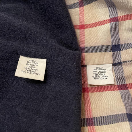 Brooks Brothers Wool Lined Cotton Swing Top